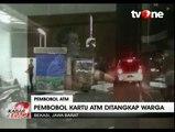 Pembobol ATM di Bekasi Babak Belur Dihajar Warga