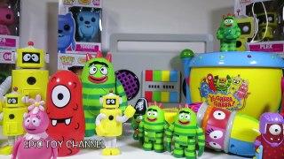 YO GABBA GABBA! Toy Collection Brobee Costume Parody with Yo Gabba Gabba Boom Box Set
