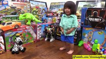 Kids Toy Channel: Toy Train! Disney Mickey Mouse Clubhouse Mouska Train Express Unboxing