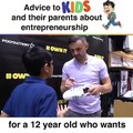 Lets stop forcing kids to be what we want them to be (I'm not sure if this kid wants to be an #entrepreneur or his father wants him to be, but it didn't feel fu
