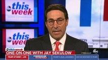 Trump Lawyer Jay Sekulow Cites 'Bad Information' Over Erroneous Trump Tower Meeting Denial