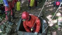 Ariège : une équipe de géologues en expédition au gouffre Georges