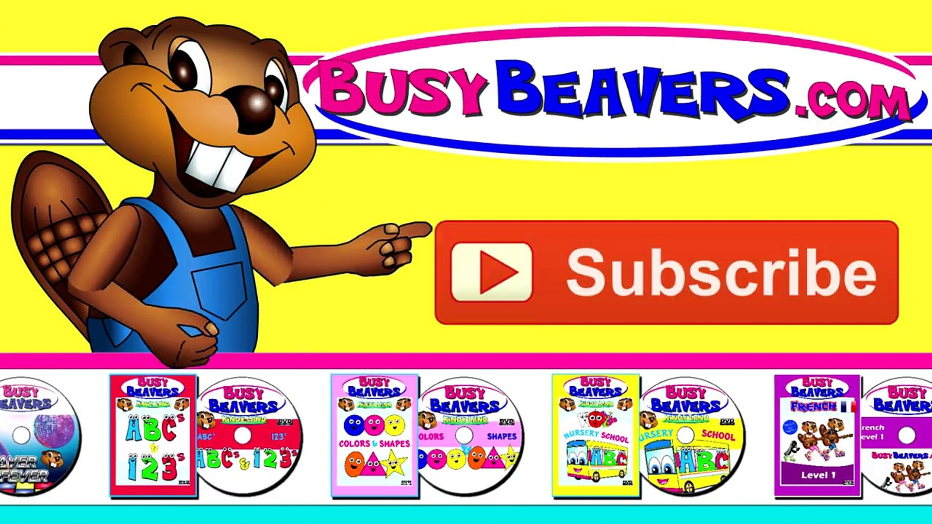 Finger Family Beavers | English Baby Song, Children Learning, Kindergarten Kids Education,
