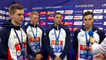 Winner Team of Men's 4 x 200m Freestyle Relay