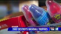 Thief Breaks into Indiana Little League Concession Stand, Smashes Trophies