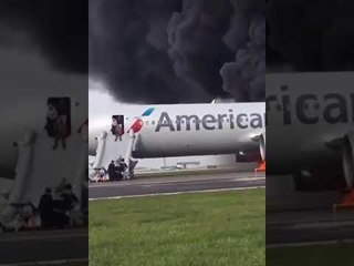 #Airplane on Fire