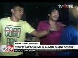 Petugas Tutup Paksa Tempat Karaoke Milik Ahmad Dhani