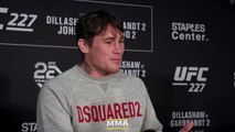 Darren Till Says He Saw Some 'Doubt' In Tyron Woodley During Staredown - MMA Fighting