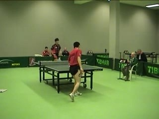 Match de coupe d'Europe (TT Intercup)