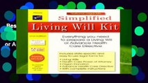 Best ebook  Simplified Living Will Kit: Everything You Need to Prepare a Living Will or Advance