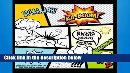 Get s  Blank Comic  For Kids Create Your Own Comics With This Comic  Journal Full Movies