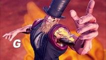 Street Fighter V : Arcade Edition - G Gameplay Trailer