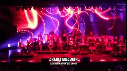 Asma Lmnawar - Bahrain Intro Show 2014   أسماء لمنور - مقدمة حفلة البحرين