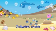 Deep in the Ocean, Deep in the Sea | Song for Kids Learning English | Sea Animals