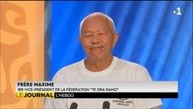 Invité du journal : Frère Maxime, 1er vice président de la fédération Te Ora Naho