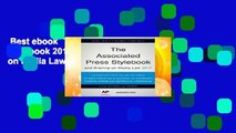Best ebook  The Associated Press Stylebook 2017: and Briefing on Media Law (Associated Press
