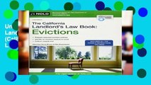 Unlimited acces The California Landlord s Law Book: Evictions (California Landlord s Law Book Vol