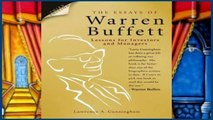 Reading Online The Essays of Warren Buffett: Lessons for Investors and Managers P-DF Reading