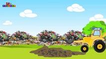 JCB | JCB for children | jcb and Garbage trucks Videos for children