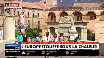 Canicule: Comment nos voisins européens, eux aussi touchés par les fortes températures, réagissent à ces extrêmes chaleurs? VIDEO