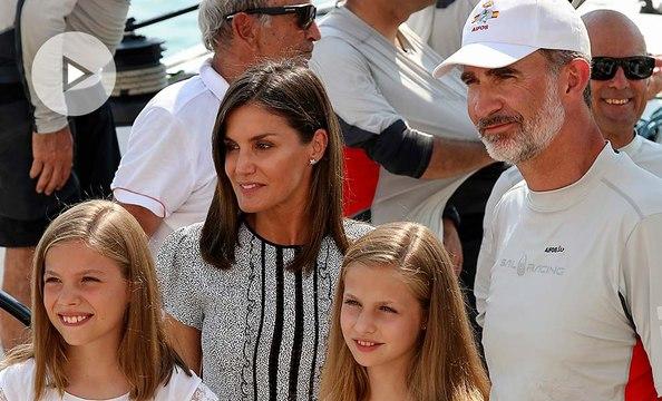 La 'cobra' del rey Felipe a la reina Letizia