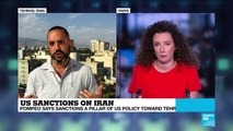 """US sanctions on Iran: """"Iran are facing the worst economic crisis they''ve ever seen"""""""