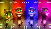 Talking Tom Cat and Talking Pocoyo Colors Reion Compilation