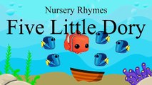 Finding Dory & Nemo in Five Little Ducks Went Swimming one day | Nursery Rhymes