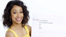 Liza Koshy Answers the Web's Most Searched Questions