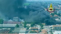 Tanker explodes in fireball on motorway in Bologna