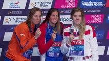 Championnats Européens / Natation : Le podium de Charlotte Bonnet