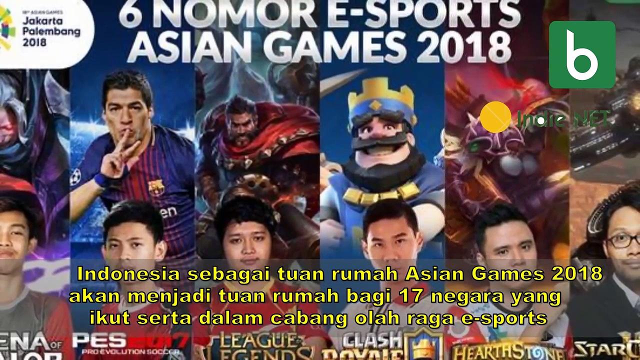 Mengenal Atlet Indonesia di 6 Nomor E Sports Asian Games 2018