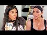 Kourtney Kardashian Is Furious At Kim Kardashian & Calls Her 'A Bit*h'