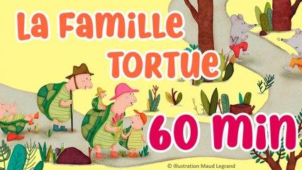 60 min de comptines pour enfants - La famille tortue - Jacques Haurogné et Steve Waring