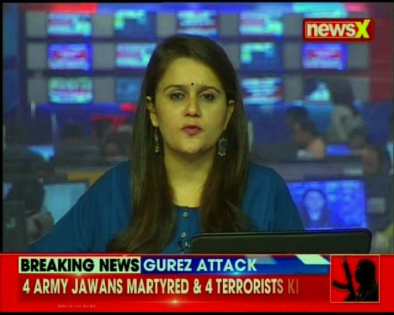 Yet again rogue Pakistan targets forces, 4 Army Jawans martryed