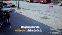İstanbul'da ehliyetsiz sürücü hafriyat kamyonuyla dehşet saçtı