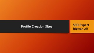 Profile Linking site