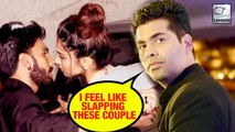 Karan Johar's Shocking Reaction On PDA In Public