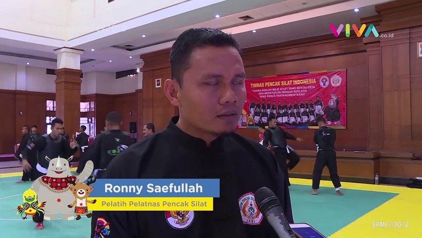 Semangat Emas Pencak Silat di Asian Games 2018