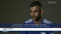 Premiers mots de Rachid Ghezzal à Leicester City