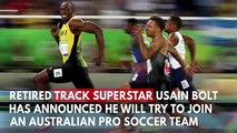 Usain Bolt To Train With Australian Pro Soccer Team