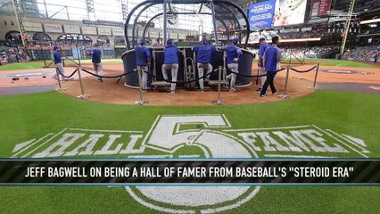 """Jeff Bagwell on Being a Hall of Famer in the """"Steroid Era"""""""