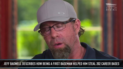 Jeff Bagwell Is Proud of His Stolen Bases