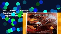 New Releases Dungeons   Dragons Player s Handbook (Dungeons   Dragons Core Rulebooks)  Review