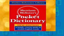 New Releases Merriam Webster s Pocket Dictionary  Unlimited