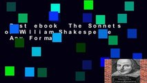Best ebook  The Sonnets of William Shakespeare  Any Format