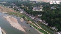 VIDEO. Entre Chouzy et Rilly, la Loire vue du ciel à bord d'un ULM