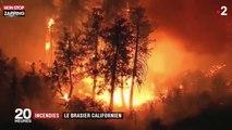 États-Unis : Les nouvelles images du plus grand incendie de l'histoire de la Californie (Vidéo)
