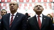 CHP'deki Kurultay Tartışmaları Sonrası İnce ve Kılıçdaroğlu Bugün Bir Araya Gelebilir