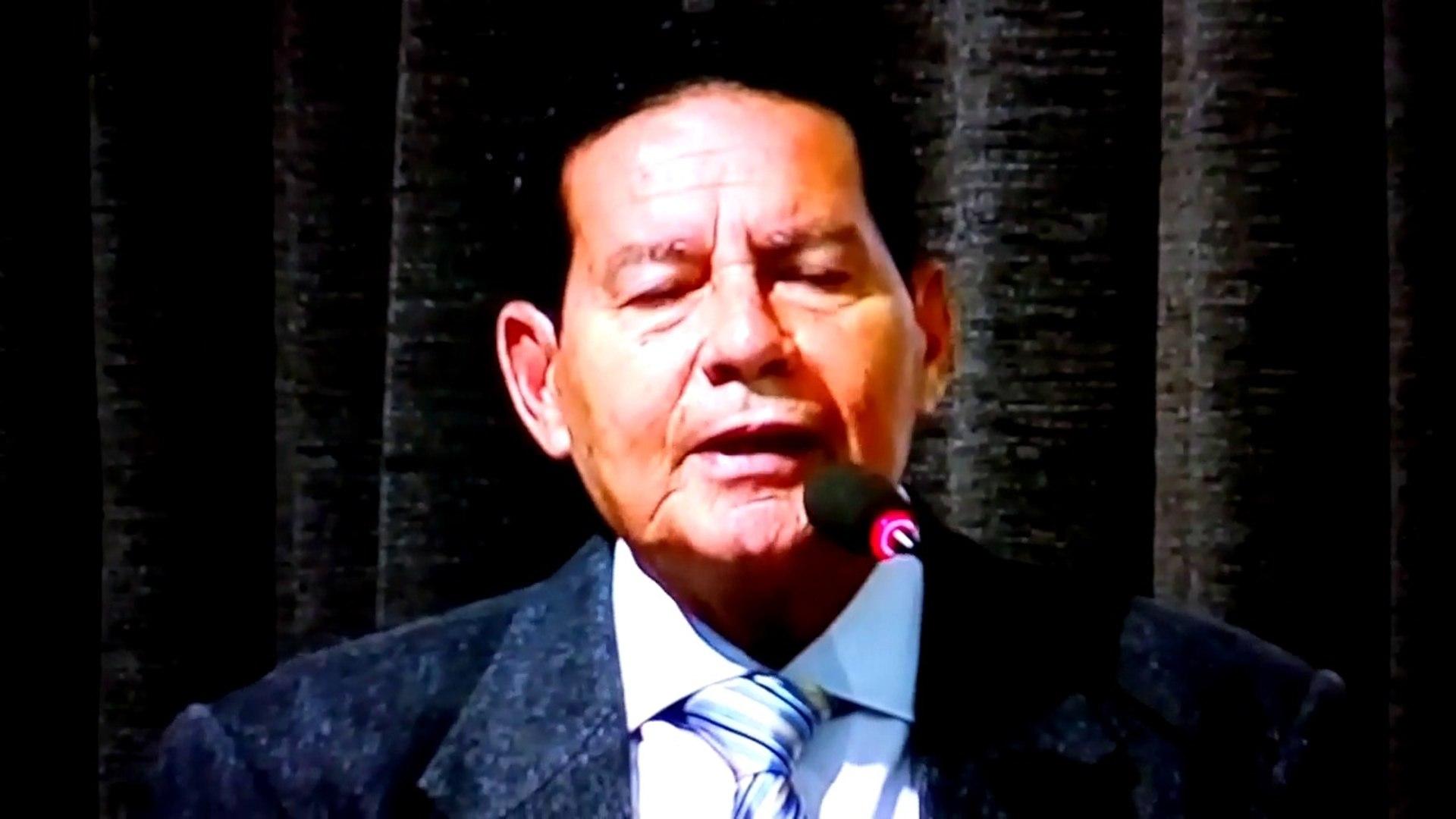 Vice de Bolsonaro Mourão-Brasileiro é Insensível,preguiçoso,desleixado,negligente e preto é preguiço
